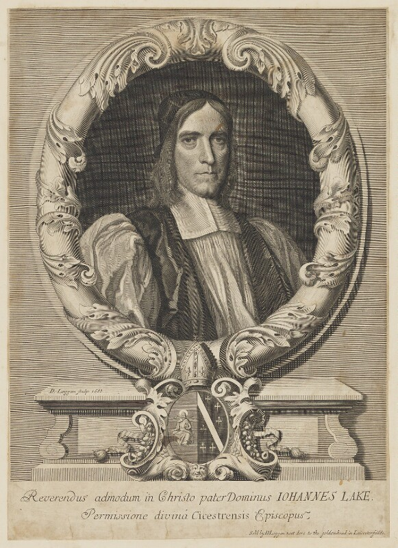 John Lake, by and published by David Loggan, 1688 - NPG D37133 - © National Portrait Gallery, London