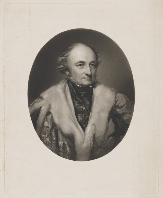 George John Danvers Butler, 5th Earl of Lanesborough, by William Walker, after  Richard Buckner, mid 19th century - NPG D37158 - © National Portrait Gallery, London