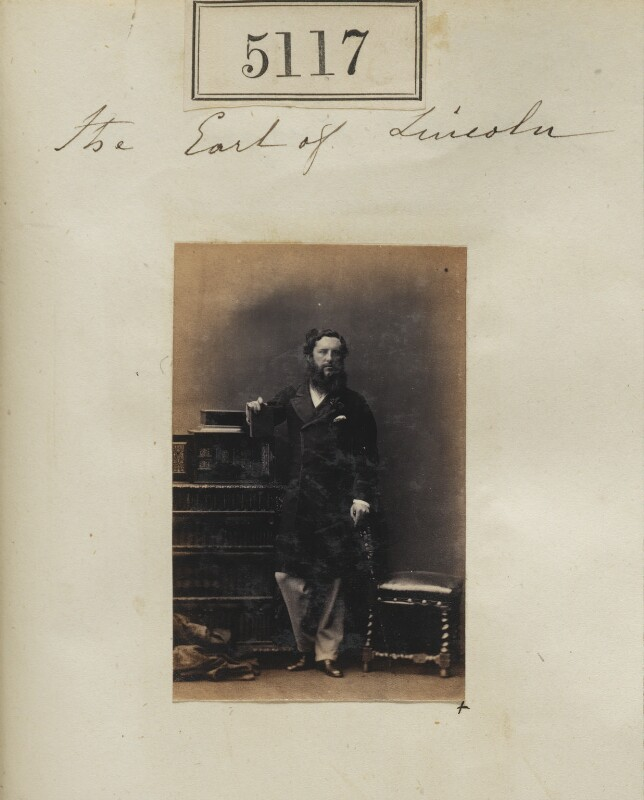 Henry Pelham Alexander Pelham-Clinton, 6th Duke of Newcastle-under-Lyne, by Camille Silvy, 22 July 1861 - NPG Ax55120 - © National Portrait Gallery, London