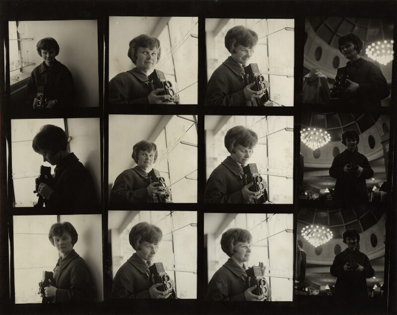 Jane Bown, by Bob Collins, circa 1959 - NPG x133155 - © estate of Bob Collins / National Portrait Gallery, London