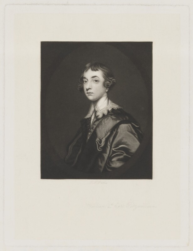 William Wentworth Fitzwilliam, 2nd Earl Fitzwilliam, by Robert Bowyer Parkes, after  Sir Joshua Reynolds, late 19th century (1764) - NPG D36956 - © National Portrait Gallery, London