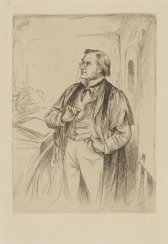 Simon Somerville Laurie, by William Brassey Hole, published 1884 - NPG D37196 - © National Portrait Gallery, London