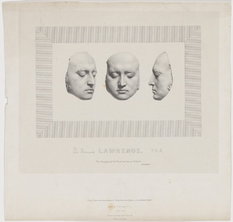 Sir Thomas Lawrence, by Richard James Lane, printed by  Charles Joseph Hullmandel, published by  Colnaghi, Son & Co, published April 1830 - NPG D37213 - © National Portrait Gallery, London