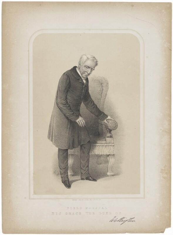 Arthur Wellesley, 1st Duke of Wellington, by Vincent Brooks, after 1828 - NPG D37604 - © National Portrait Gallery, London
