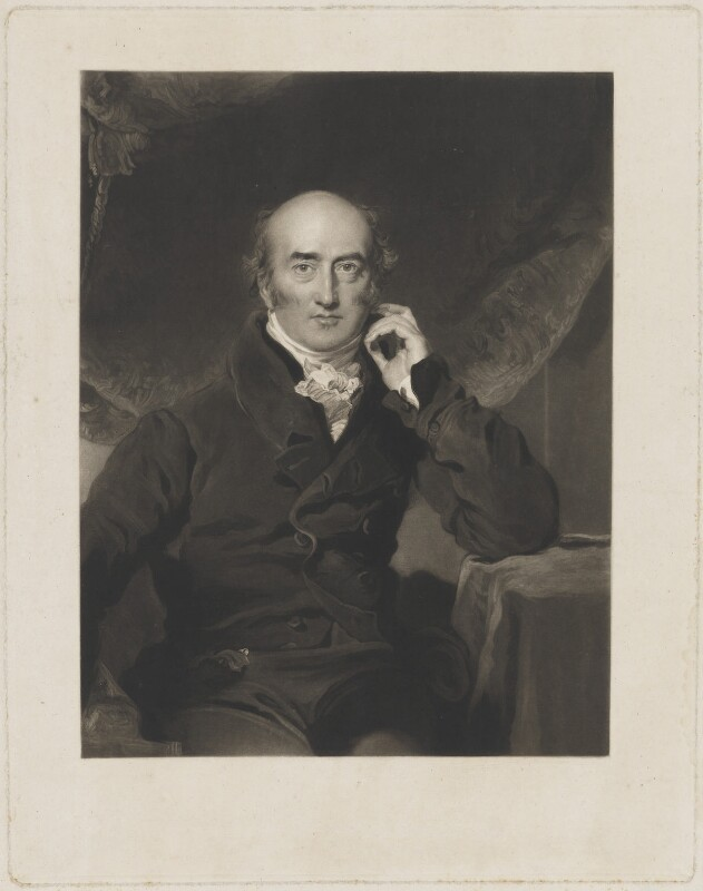 Sir Thomas Lawrence, by Unknown artist, published circa 1825 - NPG D37214 - © National Portrait Gallery, London
