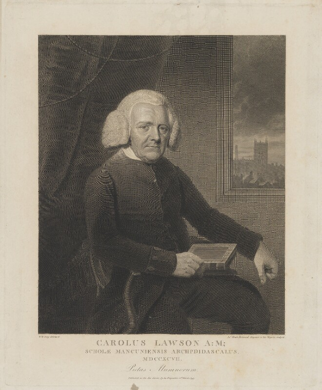 Charles Lawson ('Carolus Lawson'), by and published by James Heath, after  William Marshall Craig, published 2 March 1799 - NPG D37221 - © National Portrait Gallery, London