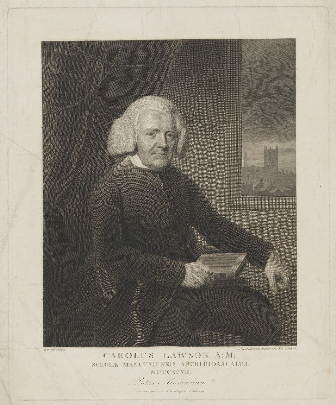 Charles Lawson ('Carolus Lawson'), by and published by James Heath, after  William Marshall Craig, published 2 March 1799 - NPG D37222 - © National Portrait Gallery, London