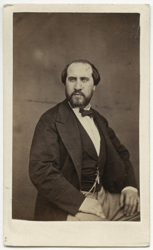 Jean Baptiste Faure, by James Grant Macandrew, late 1860s - NPG Ax25030 - © National Portrait Gallery, London