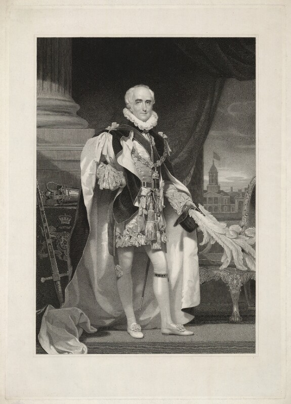Richard Colley Wellesley, Marquess Wellesley, by Henry Meyer, after  Andrew Robertson, published 1827 - NPG D37637 - © National Portrait Gallery, London