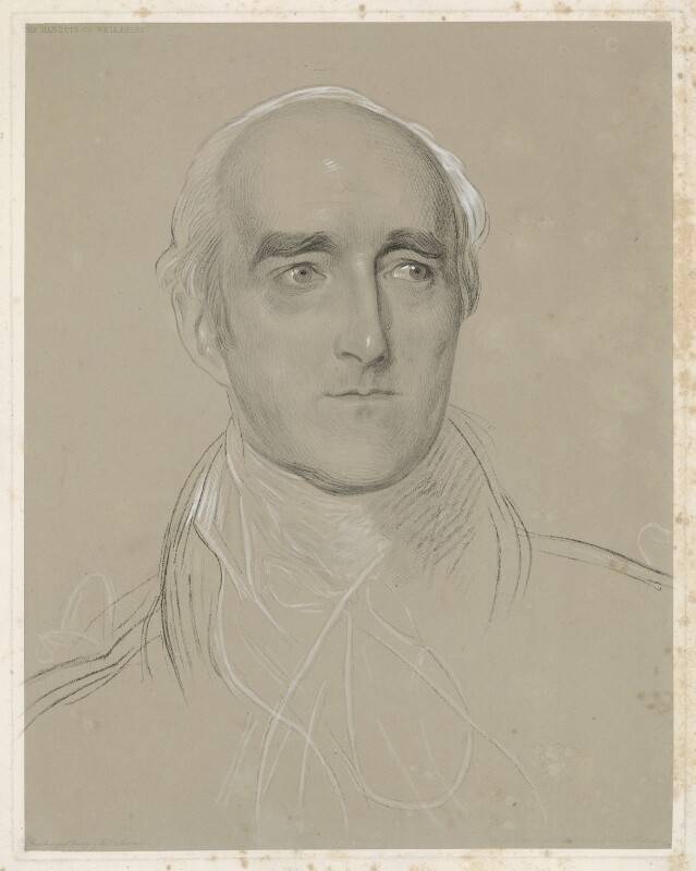 Richard Colley Wellesley, Marquess Wellesley, by Frederick Christian Lewis Sr, after  Sir Thomas Lawrence, (circa 1811) - NPG D37638 - © National Portrait Gallery, London