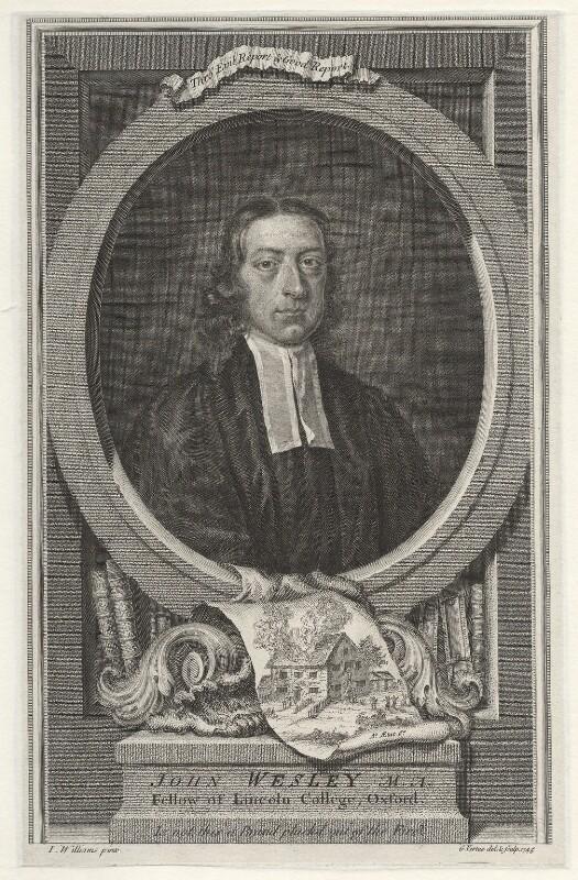 John Wesley, by George Vertue, after  John Michael Williams, 1746 - NPG D37652 - © National Portrait Gallery, London