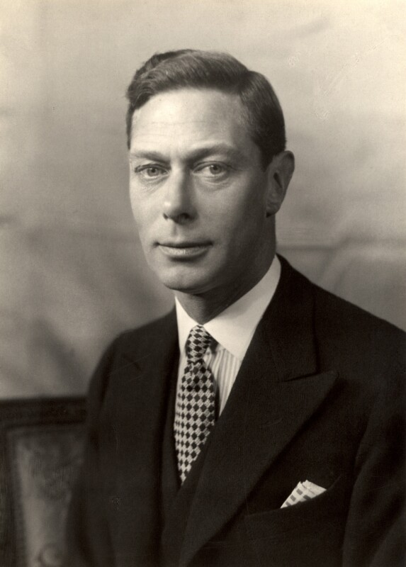 King George VI, by Walter Stoneman, 1938 - NPG x39404 - © National Portrait Gallery, London