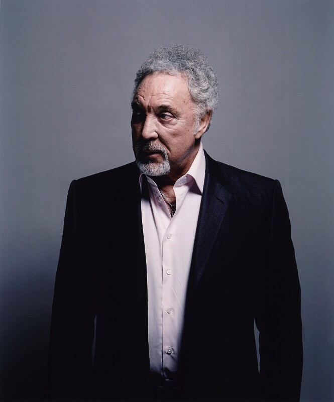 Tom Jones, by Spencer Murphy, August 2009 - NPG x133180 - © Spencer Murphy