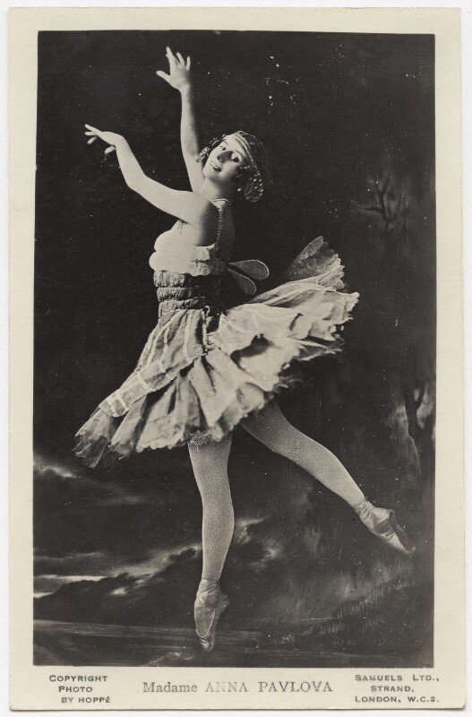 Anna Pavlova, by E.O. Hoppé, published by  J.J. Samuels, 1911 - NPG x132920 - © 2017 E.O. Hoppé Estate Collection / Curatorial Assistance Inc.