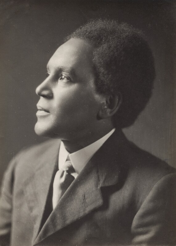 Samuel Coleridge-Taylor, by Emil Otto ('E.O.') Hoppé, 7 June 1912 - NPG x132921 - © 2017 E.O. Hoppé Estate Collection / Curatorial Assistance Inc.