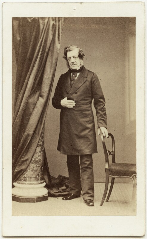 Sir William Tite, by Hennah & Kent, 1860s - NPG x74773 - © National Portrait Gallery, London