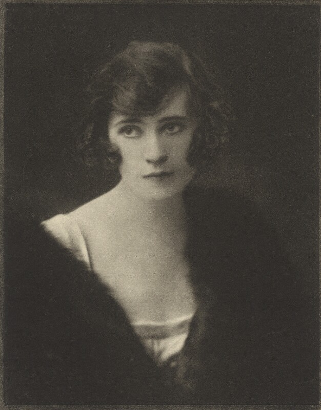 Henrietta Grace Mulholland (née D'Arcy), Lady Dunleath of Ballywalter, by Emil Otto ('E.O.') Hoppé, 6 November 1918 - NPG Ax132932 - © 2017 E.O. Hoppé Estate Collection / Curatorial Assistance Inc.