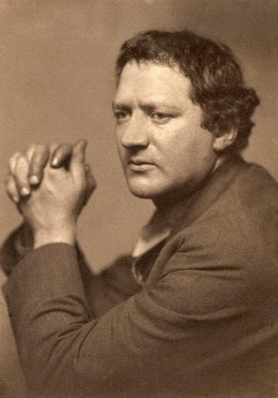 Jacob Epstein, by George Charles Beresford, 1 November 1916 - NPG x6395 - © National Portrait Gallery, London