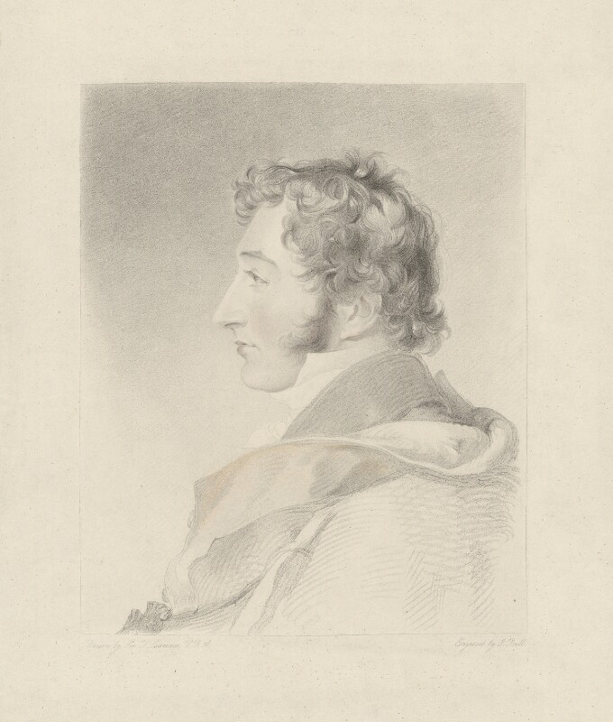 John Fane, 11th Earl of Westmorland, by John Bull, published by  Welch & Gwynne, after  Sir Thomas Lawrence, published 1 November 1838 (1814-1820) - NPG D37835 - © National Portrait Gallery, London