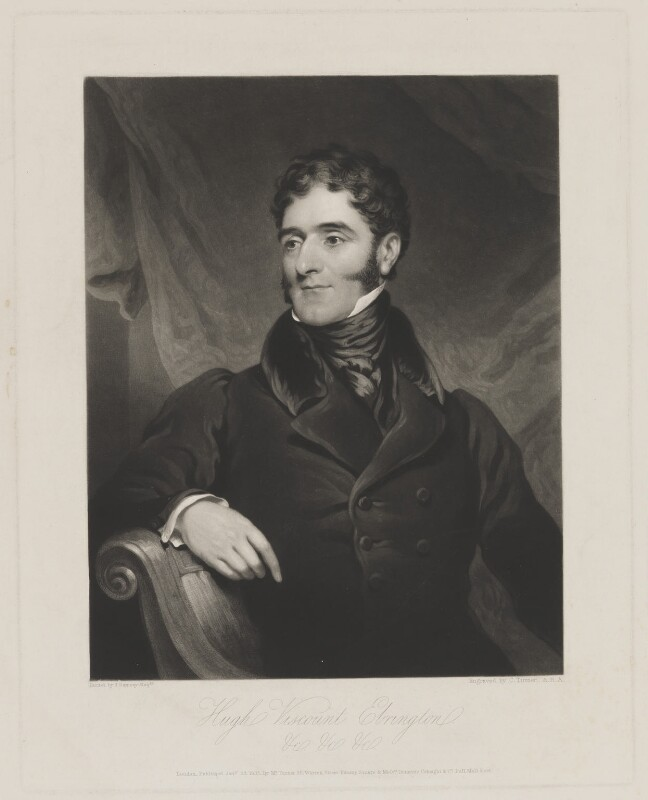 Hugh Fortescue, 2nd Earl Fortescue, by and published by Charles Turner, and published by  Paul and Dominic Colnaghi & Co, after  James Ramsay, published 23 January 1835 - NPG D37746 - © National Portrait Gallery, London