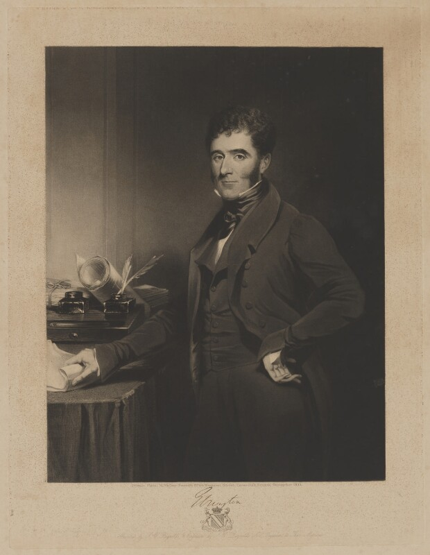 Hugh Fortescue, 2nd Earl Fortescue, by Samuel William Reynolds, published by  William Walker, after  Samuel William Reynolds Jr, September 1833 - NPG D37748 - © National Portrait Gallery, London