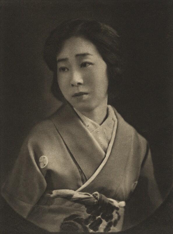 Mrs Iyemasa Tokugawa, by E.O. Hoppé, 21 June 1921 - NPG Ax132957 - © 2018 E.O. Hoppé Estate Collection / Curatorial Assistance Inc.