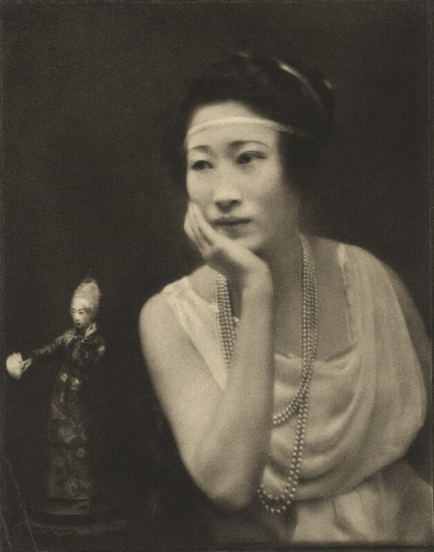 Madame Wellington Koo (née Hui-lan Oei), by E.O. Hoppé, 1921 - NPG Ax132958 - © 2018 E.O. Hoppé Estate Collection / Curatorial Assistance Inc.