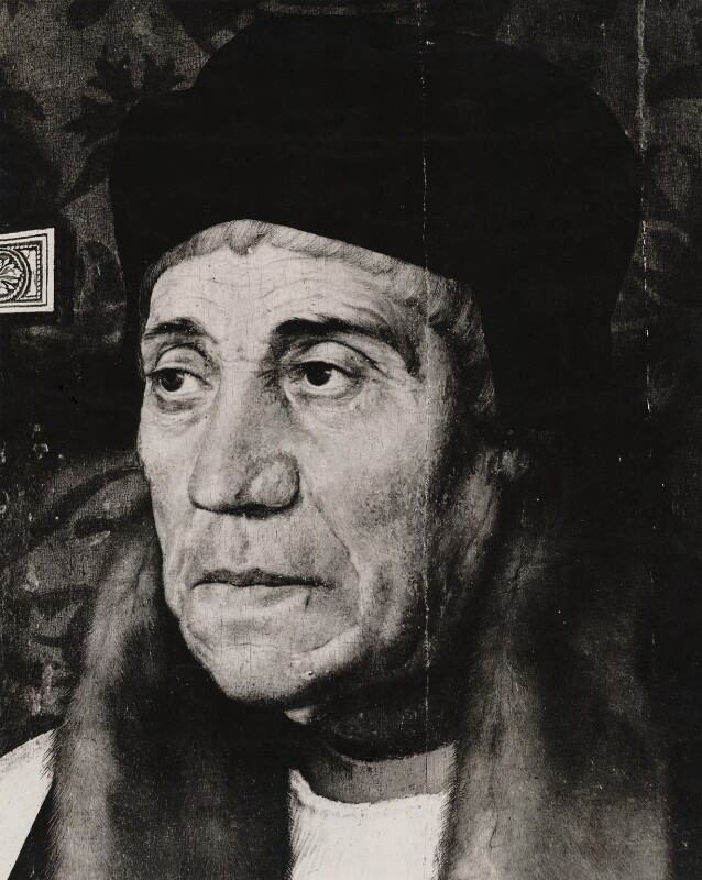 William Warham, after Hans Holbein the Younger, circa 1938 (1527) - NPG D37495 - © National Portrait Gallery, London