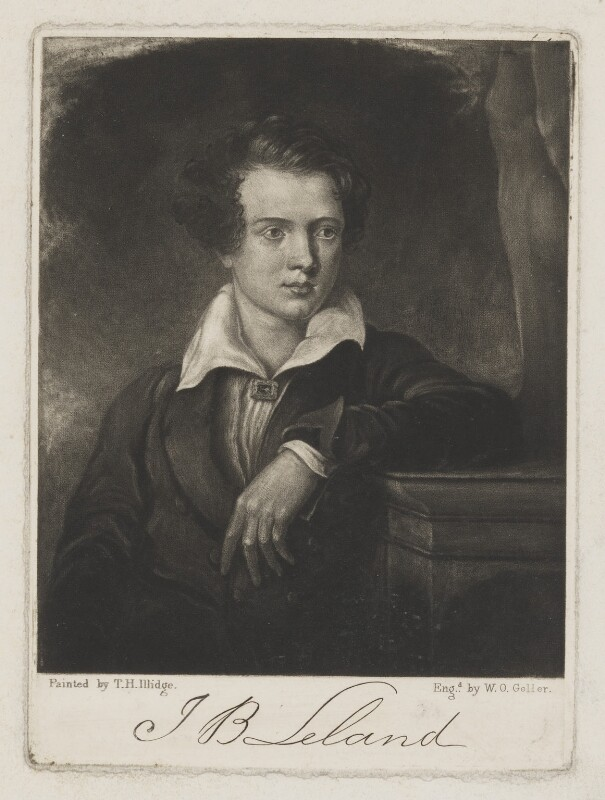 Joseph Bentley Leyland, by William Overend Geller, after  Thomas Henry Illidge, mid 19th century - NPG D37324 - © National Portrait Gallery, London