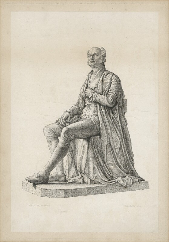 Samuel Wilson Warneford, by J. Fisher, after  Peter Hollins, after 1840 - NPG D37844 - © National Portrait Gallery, London