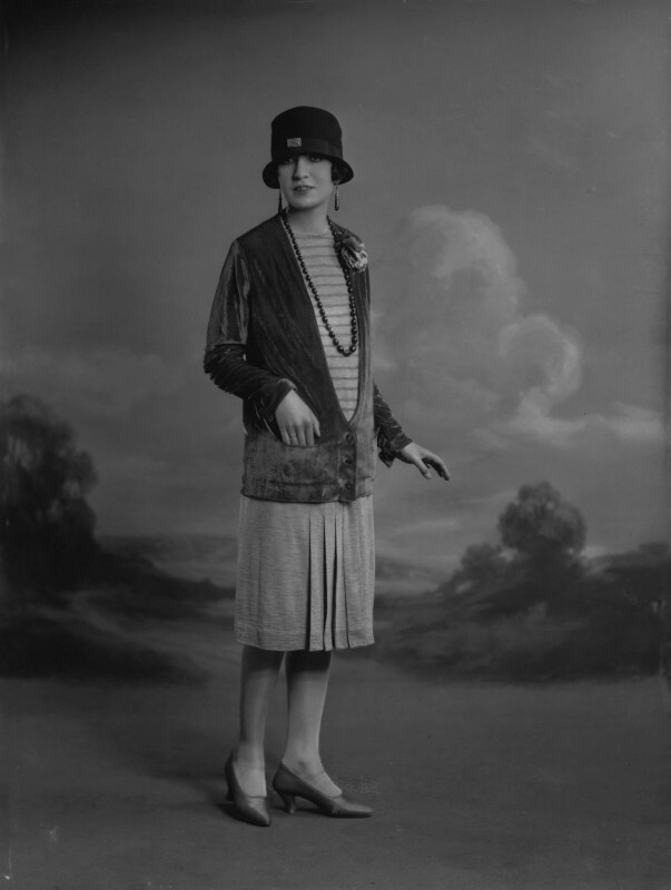 Iris Austin, by Lafayette, 28 January 1927 - NPG x74789 - © National Portrait Gallery, London