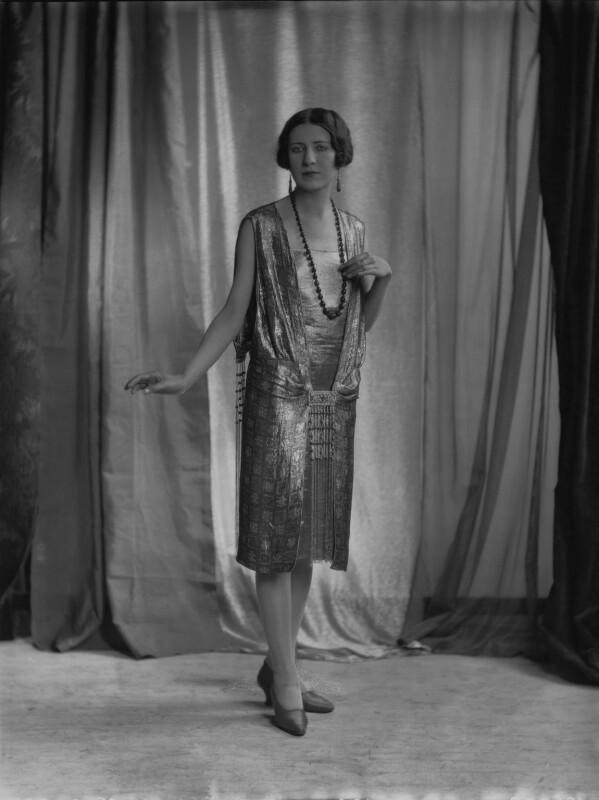 Iris Austin, by Lafayette (Lafayette Ltd), 28 January 1927 - NPG x74790 - © National Portrait Gallery, London