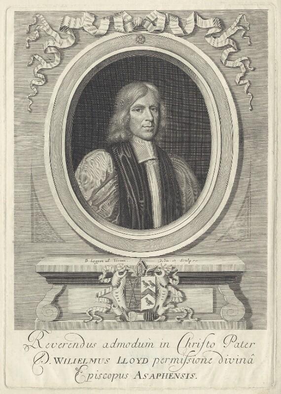 William Lloyd, by David Loggan, circa 1680 - NPG D37385 - © National Portrait Gallery, London