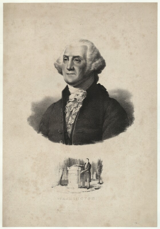 George Washington, after Gilbert Stuart, after 1796 - NPG D37874 - © National Portrait Gallery, London