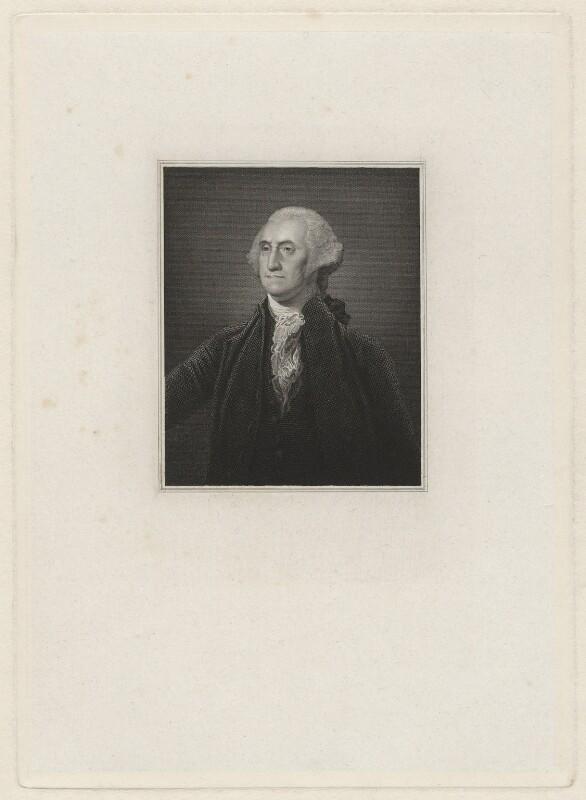 George Washington, after Gilbert Stuart, after 1796 - NPG D37875 - © National Portrait Gallery, London