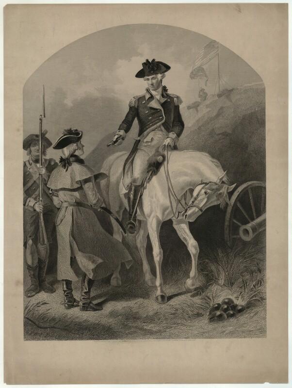 George Washington, published by and after Felix Octavius Carr ('F.O.C.') Darley, published 1859 - NPG D37878 - © National Portrait Gallery, London