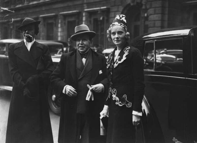Sir John Lavery; Jessie Doris (née Delevingne), Viscountess Castlerosse and an unknown woman, by Edward George W. Malindine, for  Daily Herald, 30 April 1937 - NPG x74793 - © Science & Society Picture Library / National Portrait Gallery, London