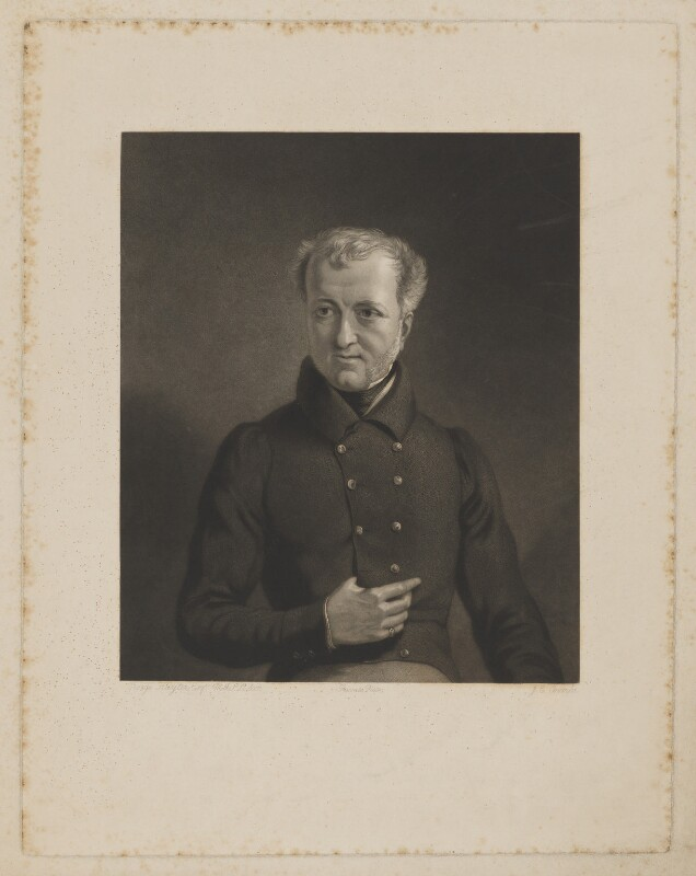 Wadham Locke, by Joseph Epenetus Coombs, after  Sir George Hayter, probably 1830s - NPG D37400 - © National Portrait Gallery, London