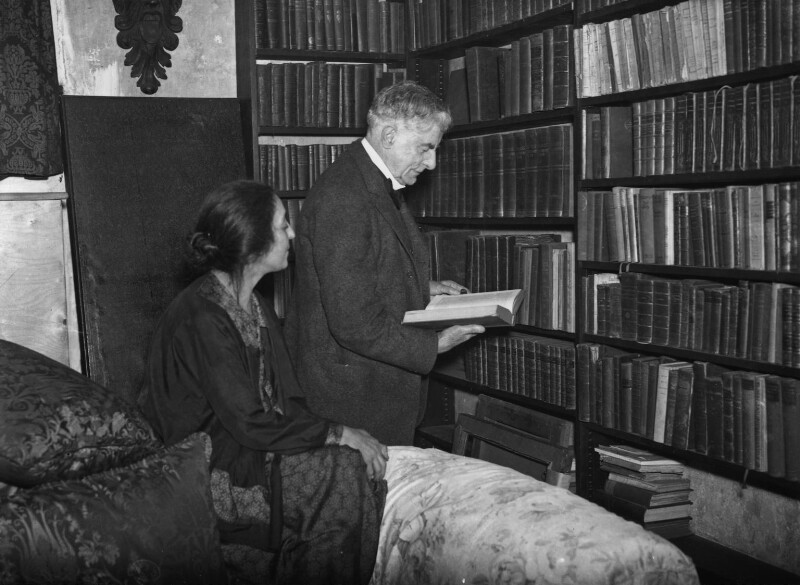 Thérèse Lessore; Walter Richard Sickert, by George Woodbine, for  Daily Herald, 5 March 1934 - NPG x74797 - © Science & Society Picture Library / National Portrait Gallery, London