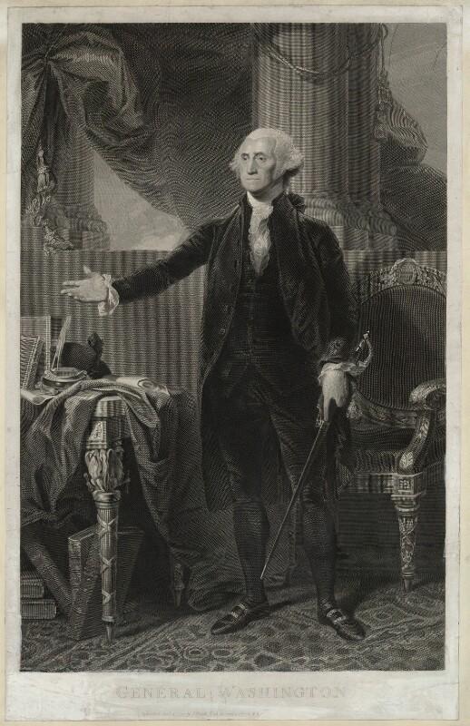 George Washington, published by James Heath, after  Gilbert Stuart, published 12 October 1797 - NPG D37879 - © National Portrait Gallery, London