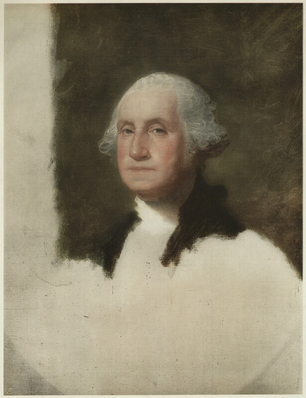 George Washington, published by The Medici Society Ltd, after  Gilbert Stuart, published 1914 - NPG D37880 - © National Portrait Gallery, London