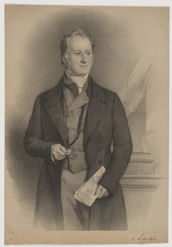 William Lowther, 2nd Earl of Lonsdale, by Vincent Brooks, after  Sir Francis Grant, 1841 or after - NPG D37437 - © National Portrait Gallery, London