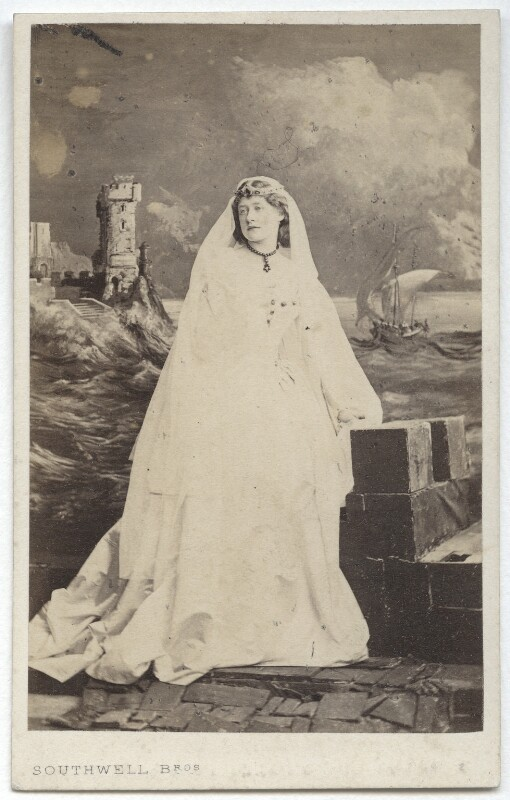 Ellen Terry as Desdemona in 'Othello', by Southwell Brothers, 1863 - NPG x16990 - © National Portrait Gallery, London