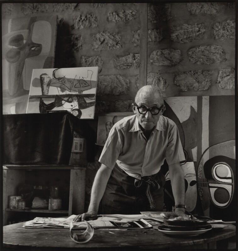 Le Corbusier, by Ida Kar, 1954 - NPG x132958 - © National Portrait Gallery, London