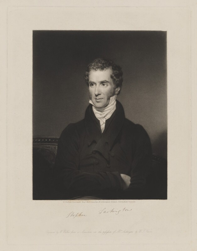 Stephen Lushington, by and published by William Walker, after  Sir William John Newton, published May 1834 - NPG D38025 - © National Portrait Gallery, London
