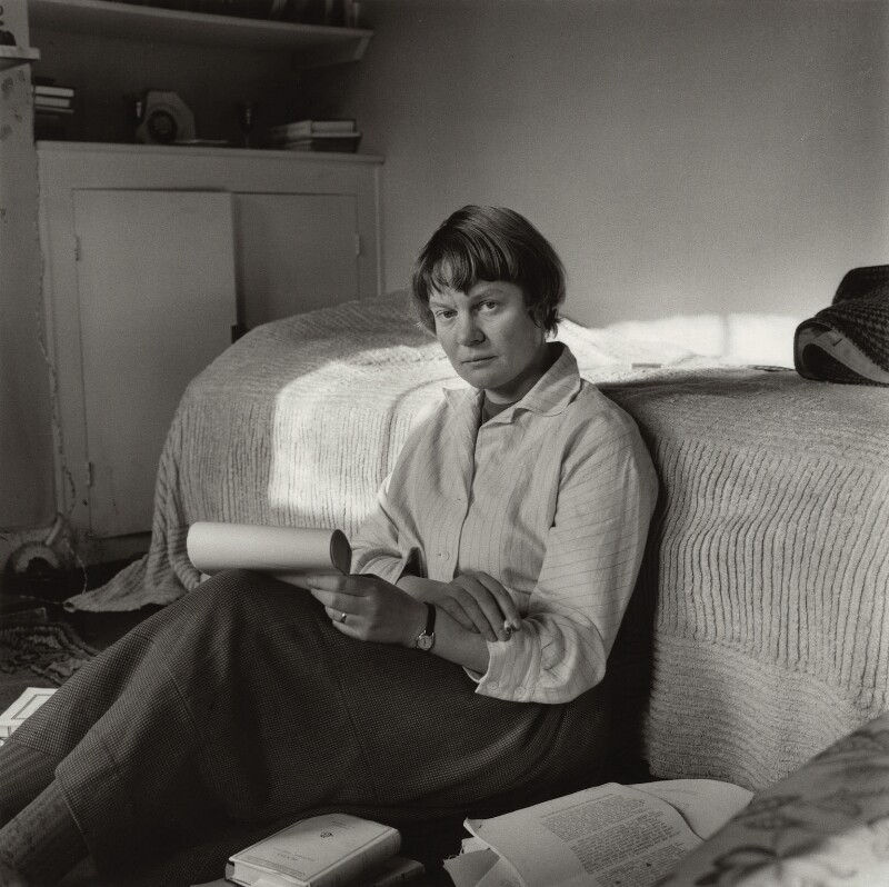 Iris Murdoch, by Ida Kar, 1957 - NPG x132970 - © National Portrait Gallery, London