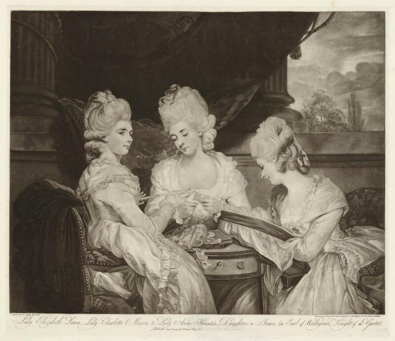 NPG D37981; The Ladies Waldegrave - Portrait - National