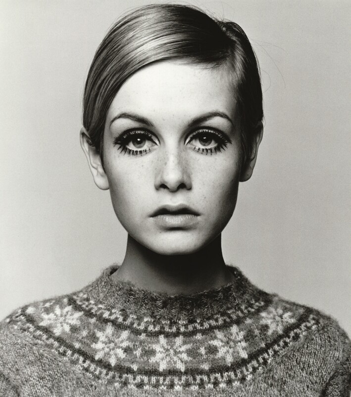 Twiggy, by Barry Lategan, 1966 - NPG x133189 - © Barry Lategan