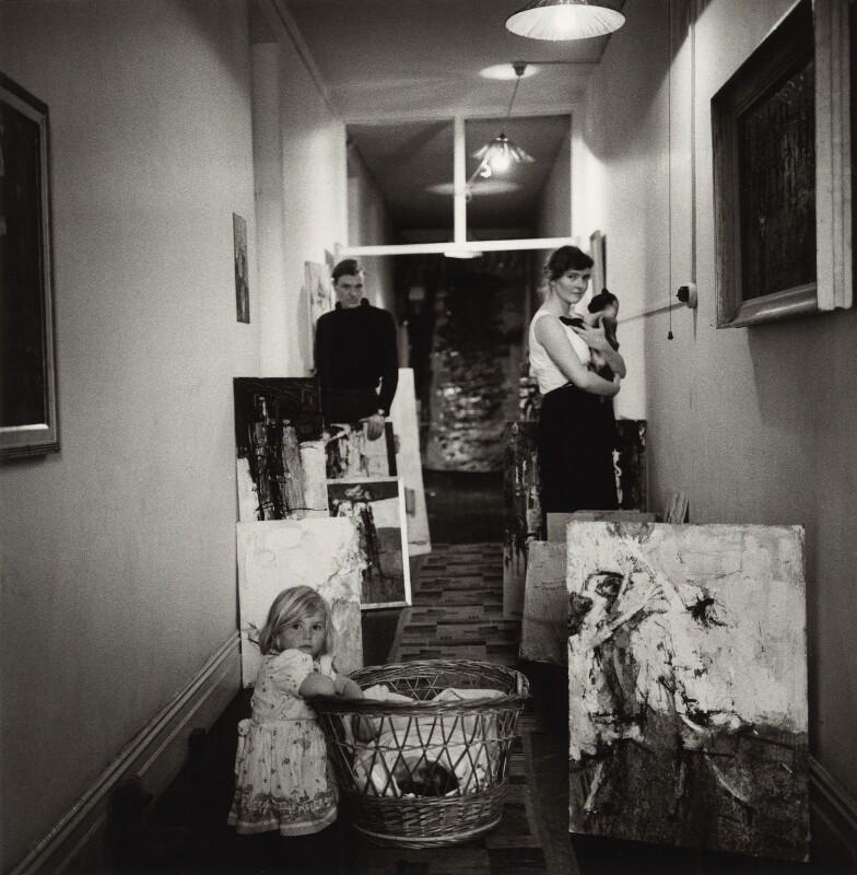 Paul Millichip and family, by Ida Kar, 1960s - NPG x132983 - © National Portrait Gallery, London