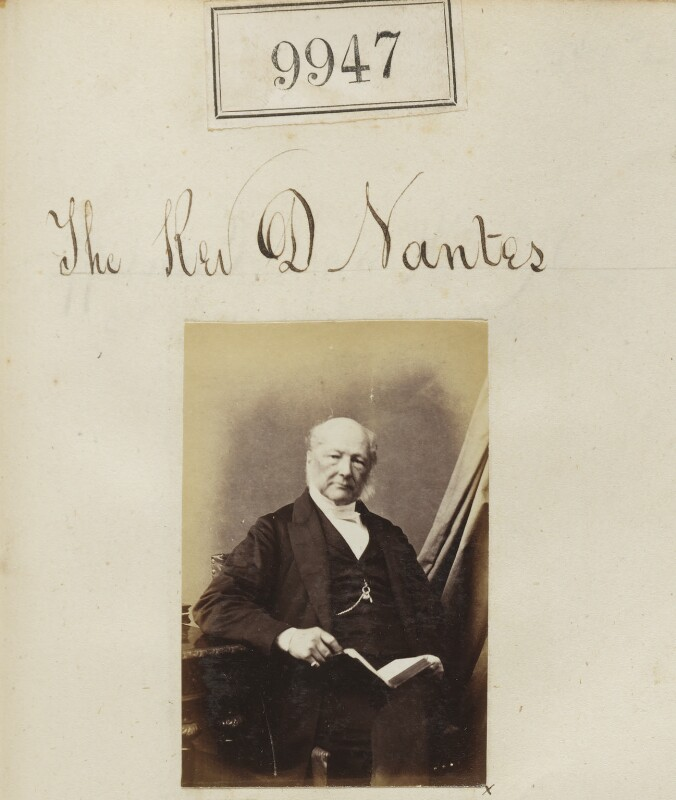 Daniel Nantes, by Camille Silvy, 1867 - NPG Ax59665 - © National Portrait Gallery, London